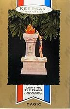 NEW IN BOX 1996 HALLMARK LIGHTING THE FLAME OLYMPIC SPIRIT COLLECTION ORNAMENT