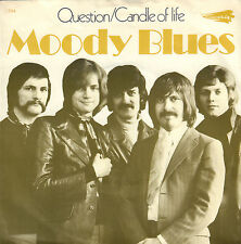 "MOODY BLUES - Questions (1970 VINYL SINGLE 7"" DUTCH PS)"