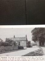 L1-9 Ephemera Reprint Picture 1905 Swinderby The Plough Lincoln