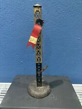 vintage TIN PRESSED METAL Single ARM TRAIN SIGNAL O Gauge SEMAPHORE or BING