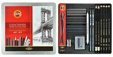 Künstlerset Art-Set Koh-I-Noor Gioconda 8898 Zeichnen Malen Skizzieren Grafik