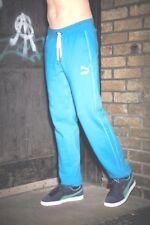 BNWT Puma  SweatPants bottoms PANTS Blue Size XL