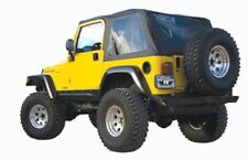 Rampage 109535 Frameless Bowless Soft Top Black Diamond 97-06 Jeep TJ Wrangler