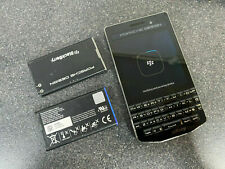 BlackBerry Porsche Design P'9983 64GB Factory Unlocked CARBON WORKING FREE P&P