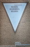 SERGIO SORRENTINO FILOSOFIA ED ESPERIENZA RELIGIOSA GUERINI E ASSOCIATI 1993