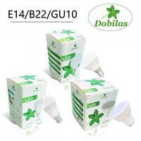 LED 7W 12W GU10 SES ES GLS E14 E27 B22 BC Golf Ball Globe Candle Lamp Light Bulb