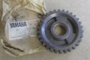 YAMAHA YZ250  YZ 250  1981  GENUINE  NOS  1st  GEAR  WHEEL - # 4V3-17211-01