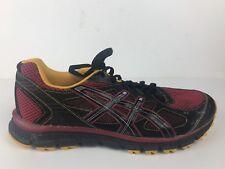 Asics Gel Scram T2J1N Men's Trail Running Shoes Black/Red SIZE US 12
