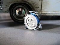 Kabel Trommel mit Kabel 1/18 für Diorama Werkstat Garage Deko Metall Bausatz Kit