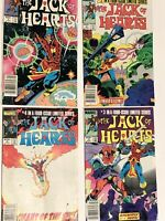 The Jack Of Hearts #1,2,3,4 Marvel Comics 1983 Complete Set Lot
