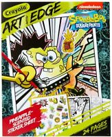 Crayola Art With Edge SpongeBob Squarepants Coloring Pages Scented Stickers