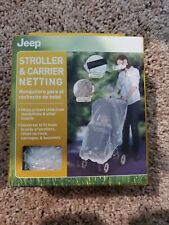 Netting for Stroller and Carrier by Jeep Blocks Mosquitoes and Other Biting Bugs