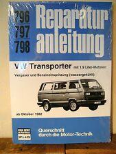 VW Transporter T3 ab Okt. 1982 mit 1,9 Liter-Motor Vergaser u. Einspritzung