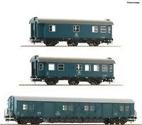 """Roco H0 67198 Bauzugwagen-Set der DB """"Neuheit 2020"""" - NEU + OVP"""