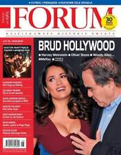 SALMA HAYEK on cover Polish Magazine FORUM 6/2018 Frances McDormand,Kobe Bryant
