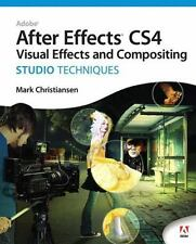 NEW - Adobe After Effects CS4 Visual Effects and Compositing Studio Techniques