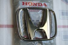 2003 - 2007 Honda Accord CRV Emblem 4Dr Sedan Front Grille H Logo 75700-S9A-G00