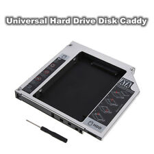 12.7mm Universal PATA IDE To SATA 2nd SATA HDD Hard Drive Disk Bay Caddy+Screws
