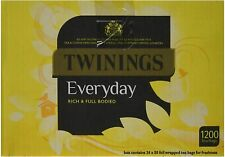 Nouvelle annonce Royaume-Uni Prepper: TWININGS Everyday Intercalaires (total 1200) vrac Job Lot w...
