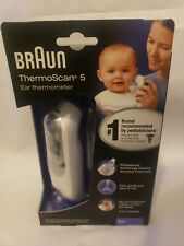 New Braun ThermoScan 5 Irt6500 Digital Ear Thermometer Next Day Ship