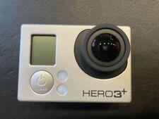 GoPro Hero 3+ silver, Fernbedienung, 3 Akkus, Ladegerät, Zubehörpaket, gebraucht