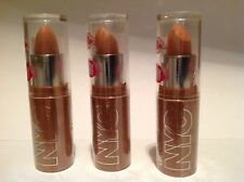 Lot of 3x NYC Expert Last Lip Color 448 Smooth Beige