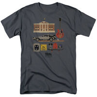 Back To The Future Items T-Shirt Sizes S-3X NEW