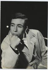 Umberto Bindi Vintage silver print,Umberto Bindi (né le 12 mai 1932 à Bogliasc