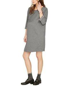 Hatch Maternity Women's THE BRUNCH DRESS Grey Size 1 (S4-6)  NEW
