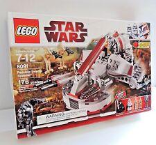 Lego Star Wars 8091 Republic Swamp Speeder New In Factory Sealed Box
