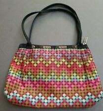 LeSportsac Polka Dot Girl Purse Bag- Bright Colors