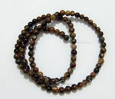 1filo/102pz perline in pietra occhi di tigre naturale 3mm bijoux