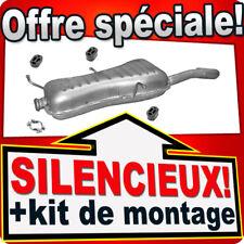 Silencieux Arriere PEUGEOT 306 1.8 16V 2.0 CABRIO 1994-2003 échappement UUL