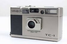 [Mint] Minolta TC-1 G-Rokkor 28mm  f3.5, Overhauled & Tested from Japan #062