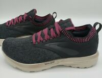 Brooks Ricochet LE Black Grey Red Running Shoes Women's Size 6
