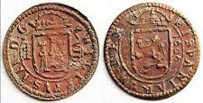 España-Felipe III. 8 Maravedis 1606. Segovia EBC-/XF-. Cobre 5,7 g. Bonita