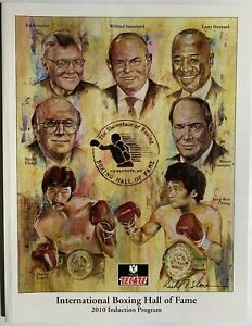 2010 Boxing Hall of Fame Induction program Danny Lopez  Jung-Koo Chang