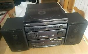 Philips AS9300, Anlage, Plattenspieler, Radio, Receiver, Kassette, SONY SS-H155
