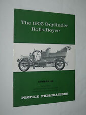 The 1905 3-Cylinder Rolls-Royce Number 49 Profile Publications