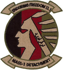 USMC MARINE AIR SUPPORT SQUADRON 1 DETACHMENT- ENDURING FREEDOM 13.1 PATCH