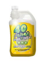 "40 SHOT DISH""N""TREAT CARAVAN WASH UP LIQUID + TANK CLEANER WASTE & WATER FRESHER"
