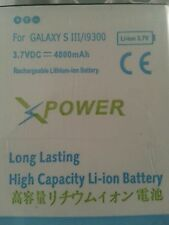 4800mAh Extended Battery For Samsung Galaxy S III S3 i9300 with White Cover