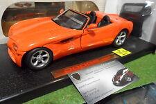 DODGE COPPERHEAD CONCEPT CAR 1997 cabriolet convertible orange 1/18 ANSON 30333