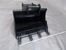 Tieflöffel Baggerlöffel passend Schnellwechsler MS01 ca. 600 mm breit