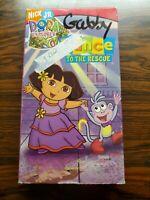 Nick Jr. Dora The Explorer- Dance To The Rescue VHS