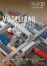 FALLER Gesamt-Katalog 2018/2019/2020 Modellbau auf 544 Seiten+weitere Prospekte