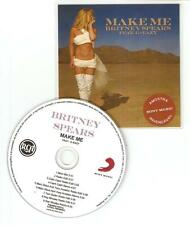 BRITNEY SPEARS FT G EAZY 'MAKE ME' RARE BRAZILIAN CD PROMO 9 MIX CD PROMO