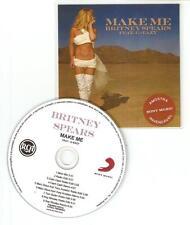 BRITNEY SPEARS FT G EAZY 'MAKE ME' RARE BRAZILIAN CD PROMO 9 MIX CD PROMO
