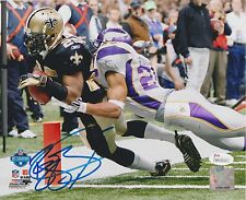 Reggie Bush Signed New Orleans Saints Football 8x10 Photo JSA WP100163