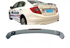Unpaint ABS Spoiler Wing With LED For Honda 2012-2015 Civic 4dr Sedan
